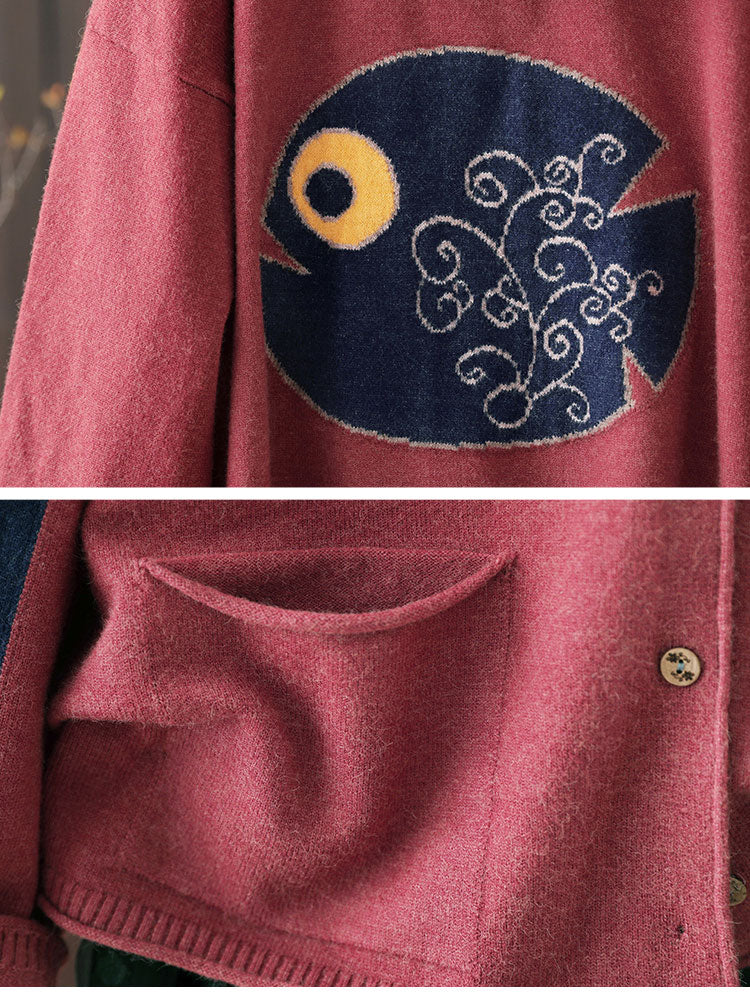 Whimsical Fit Cardigan Details 2
