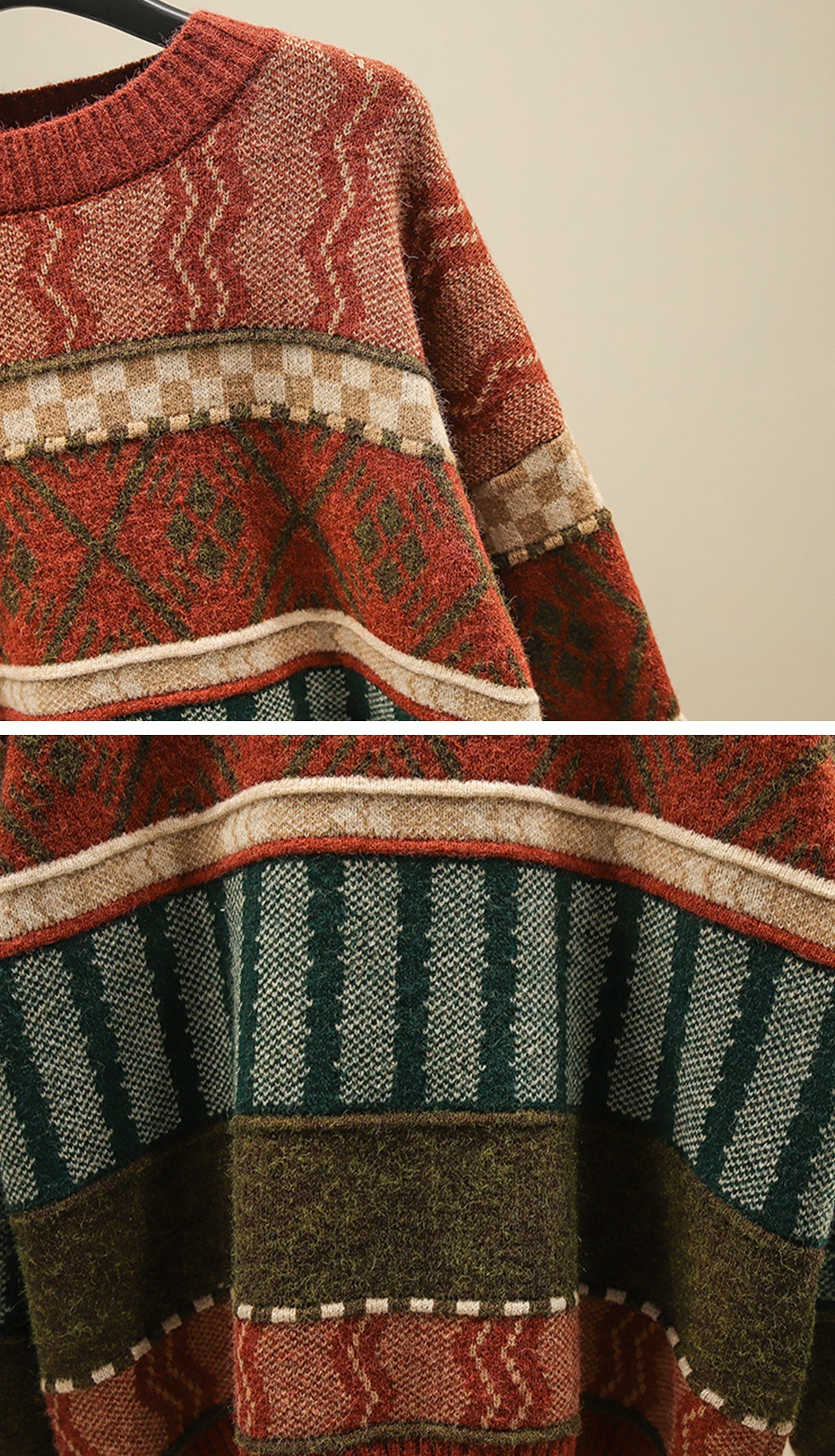 On The Prowl Sweaters Details 3