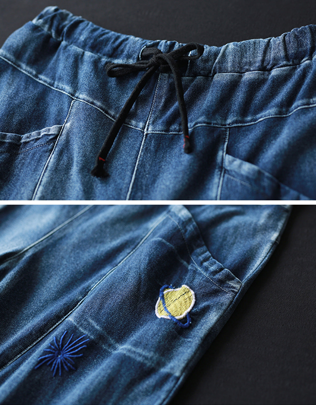 Something Different Denim Cotton Co-Ords Details 3