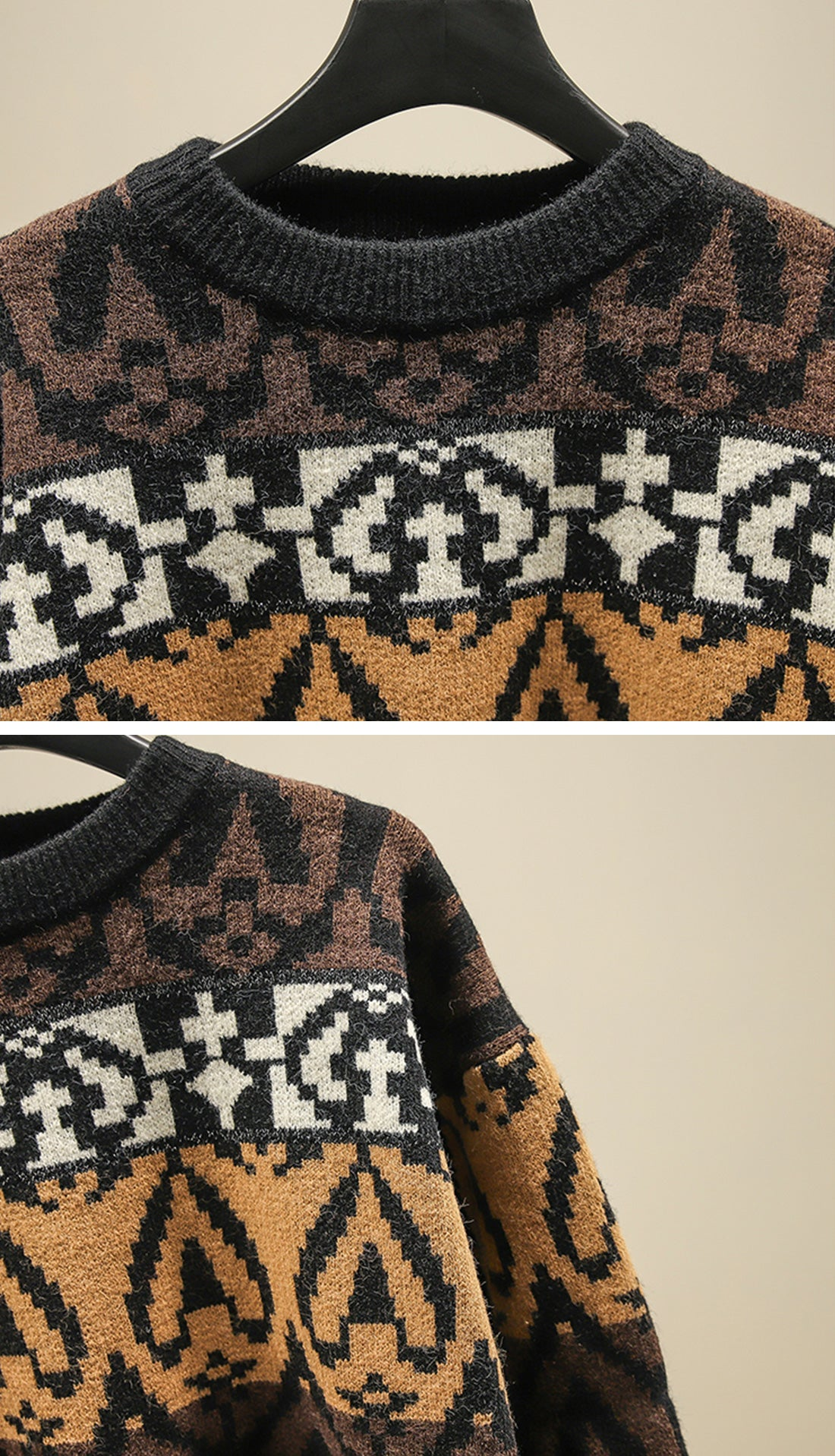 The Travelers Sweaters Details 3