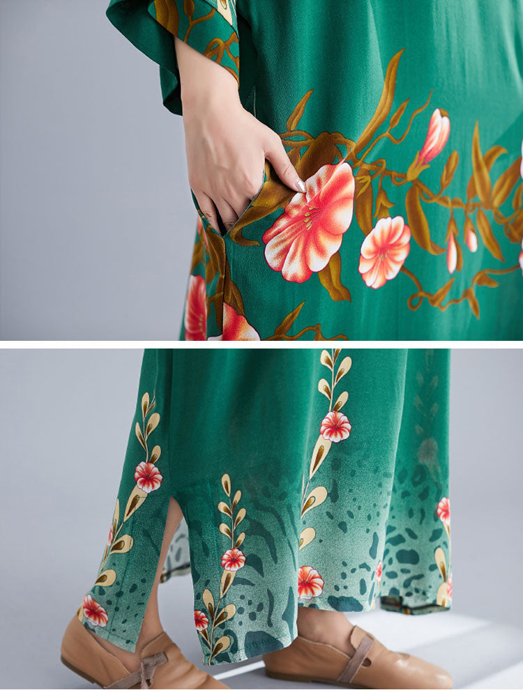 Ready to Bloom Maxi Dress Details 3