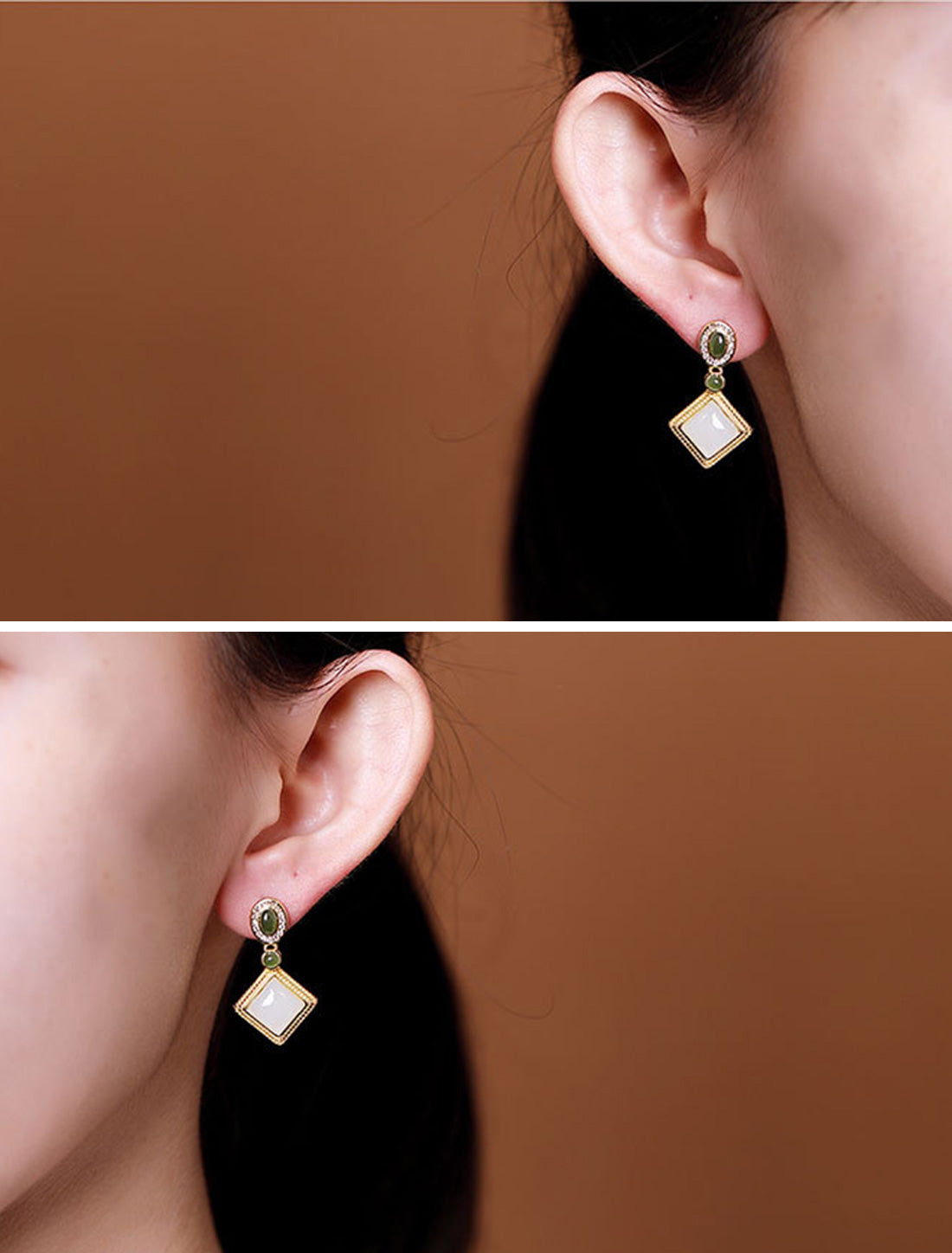 Earthy of Praise Earrings Details 4