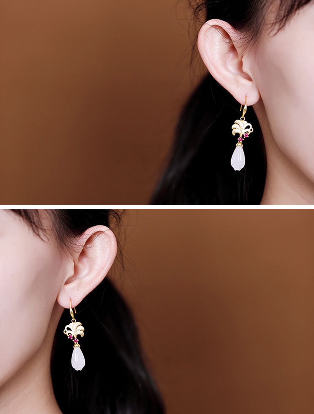 Natural Notion Drop Earrings Details 4
