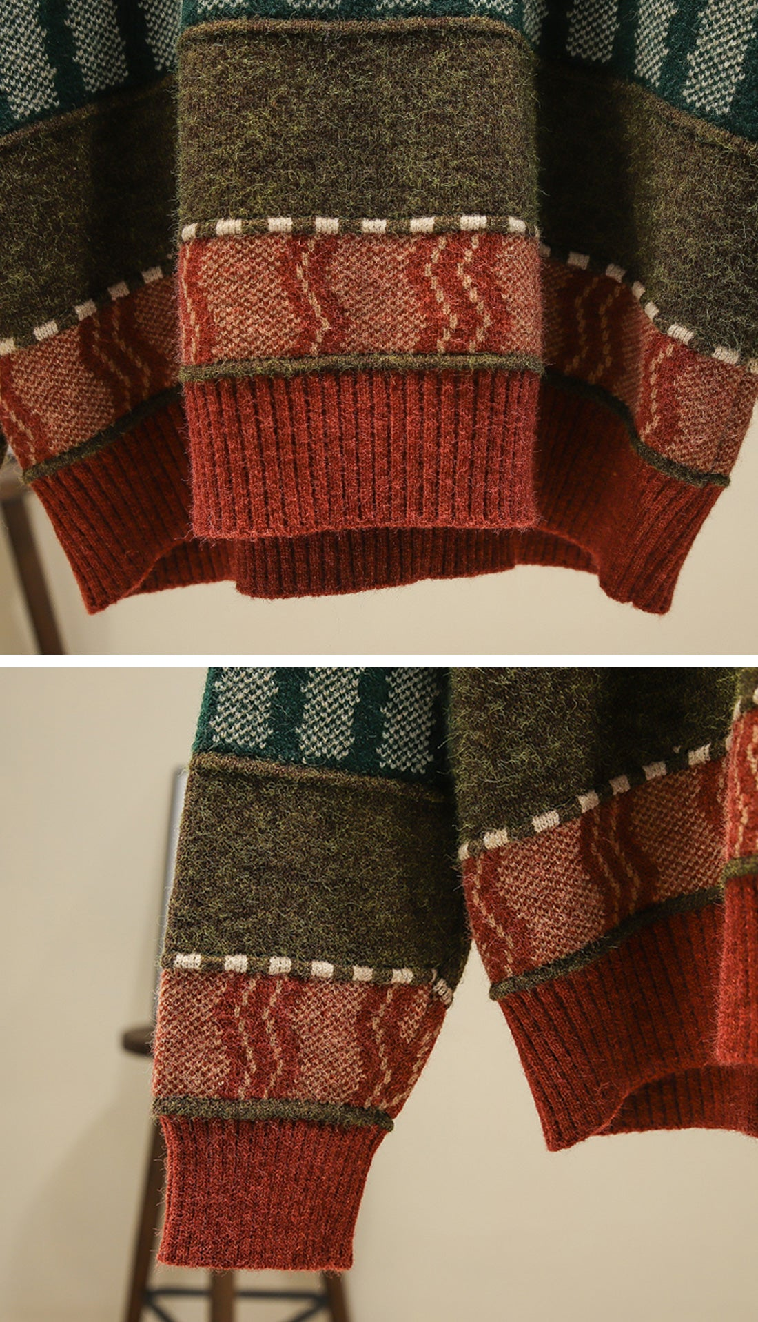 On The Prowl Sweaters Details 4