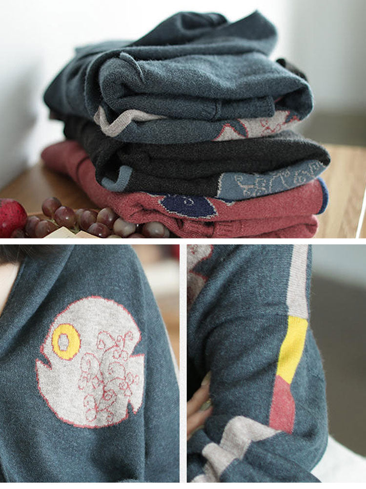 Whimsical Fit Cardigan Details 3