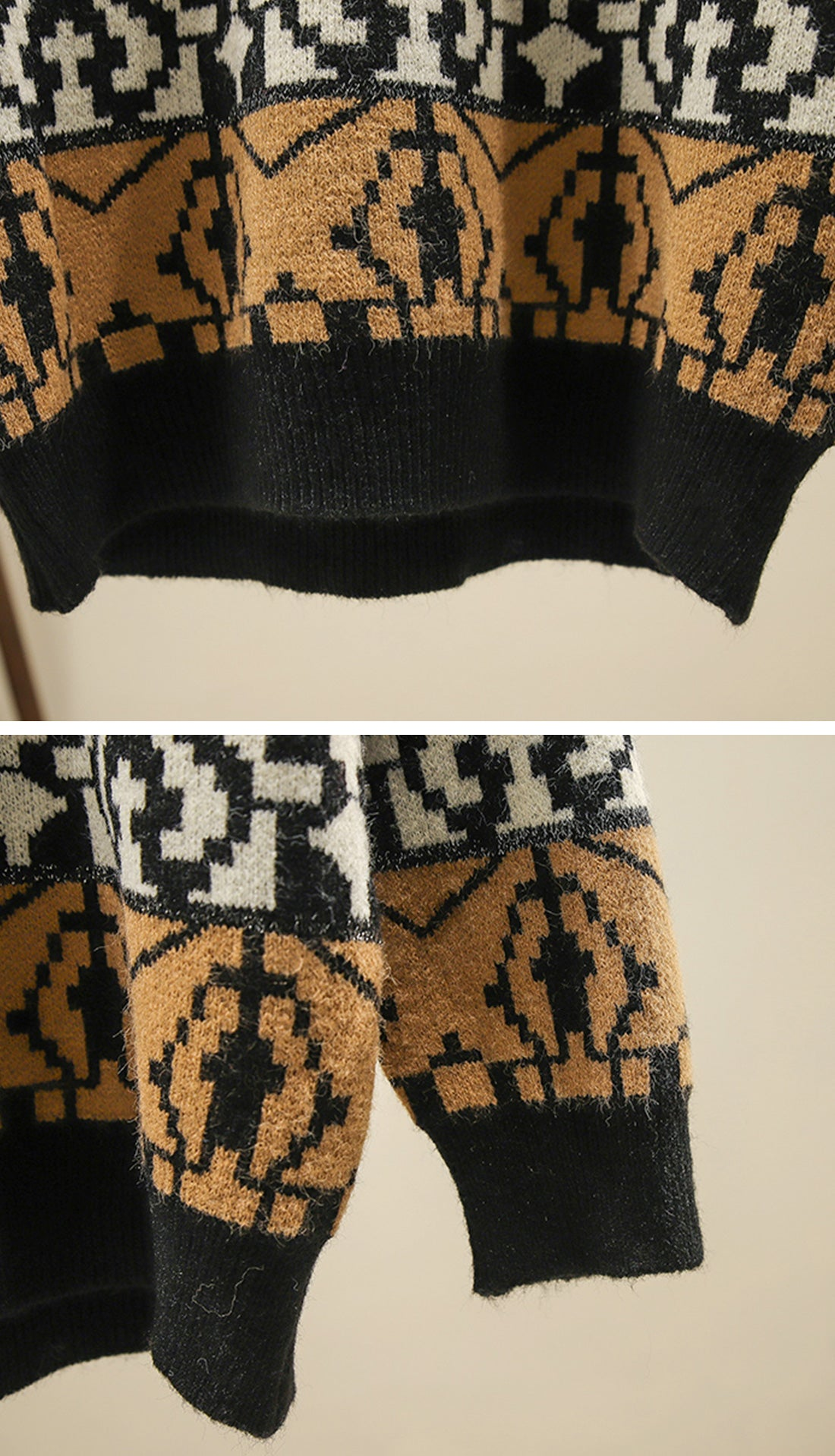 The Travelers Sweaters Details 4