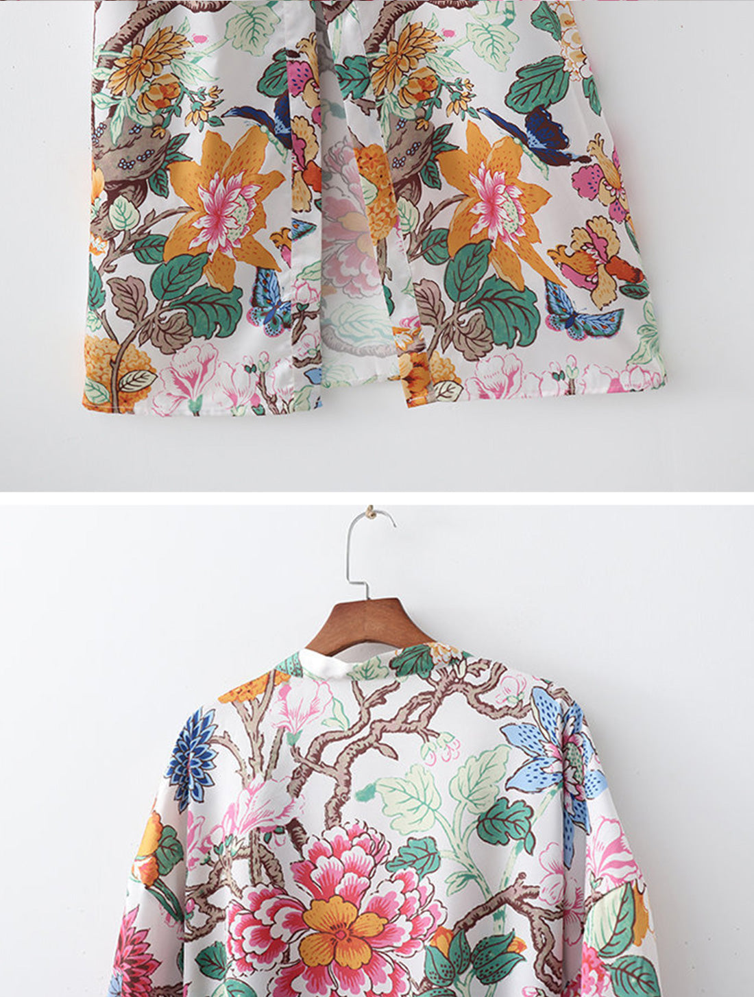 Forever With You Kimono Robe Details 4