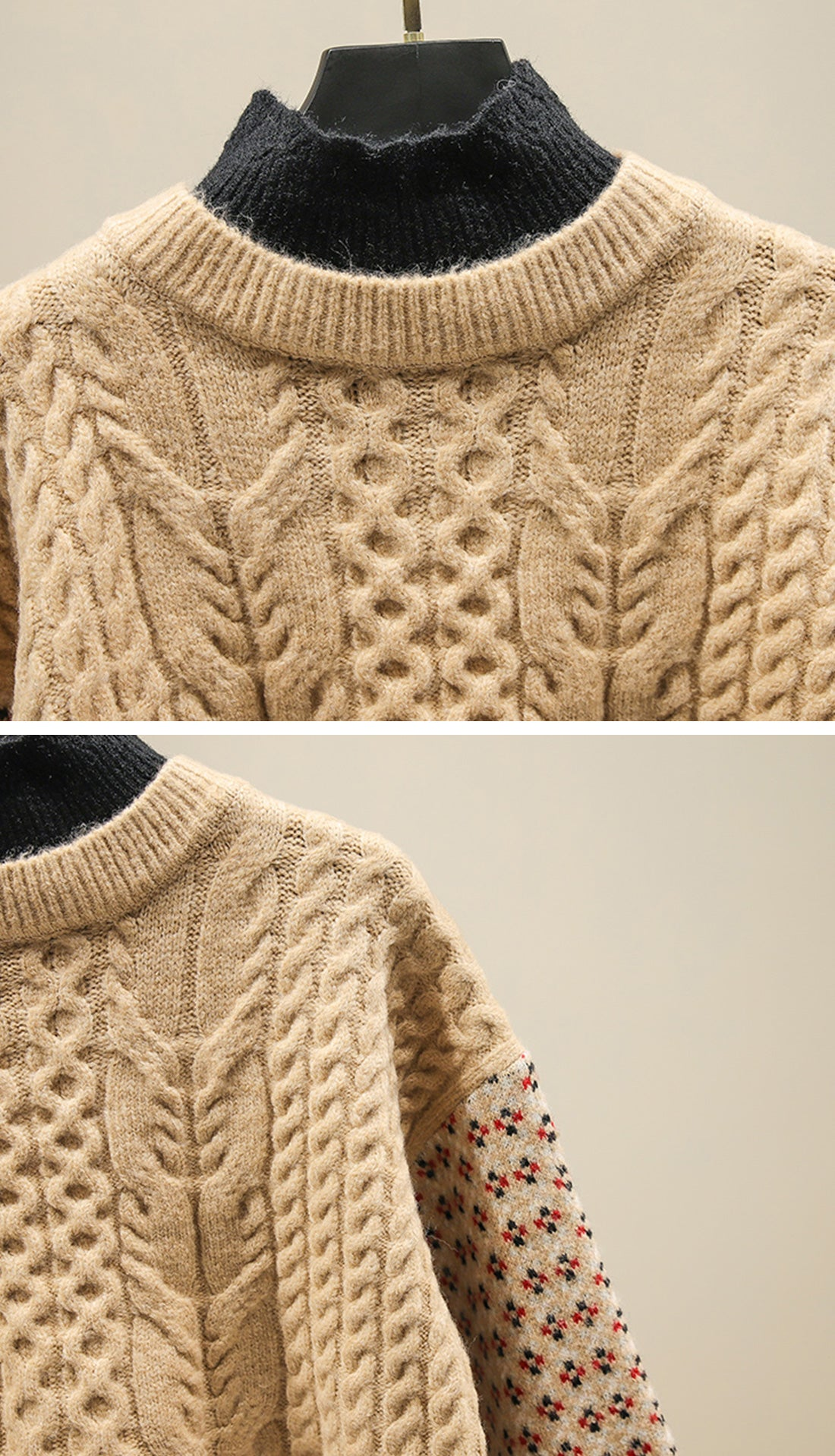 Into the Forest Sweaters Details 5