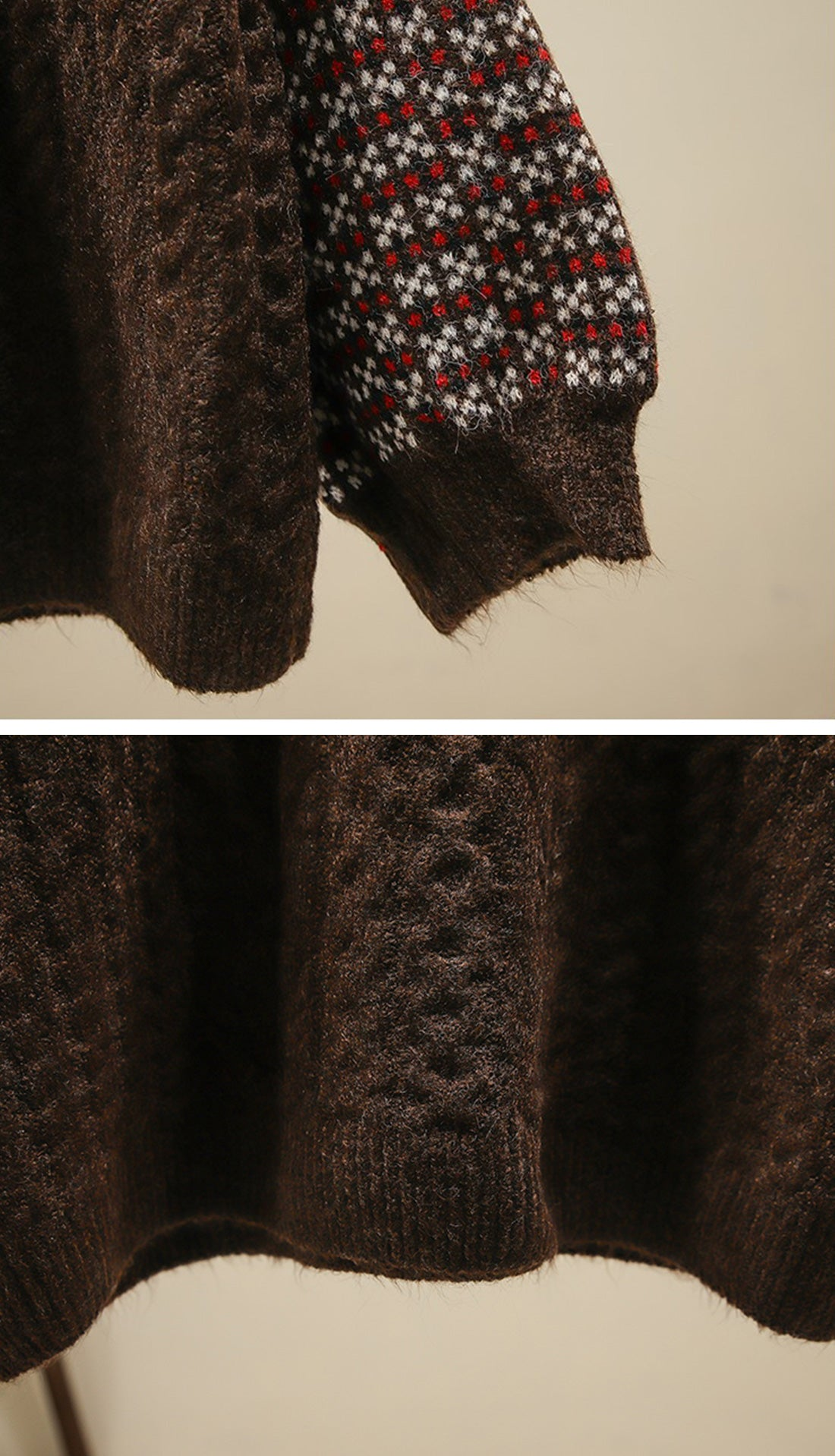 Into the Forest Sweaters Details 7