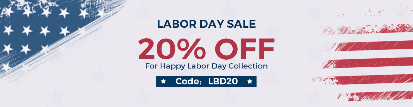 Labor day collection banner