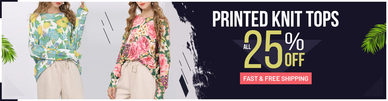 New Knit Tops Banner
