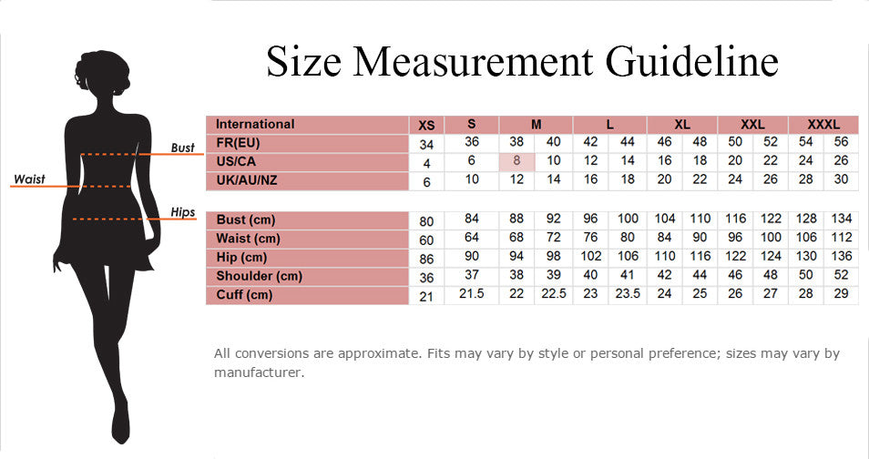 Size Measurement Guideline