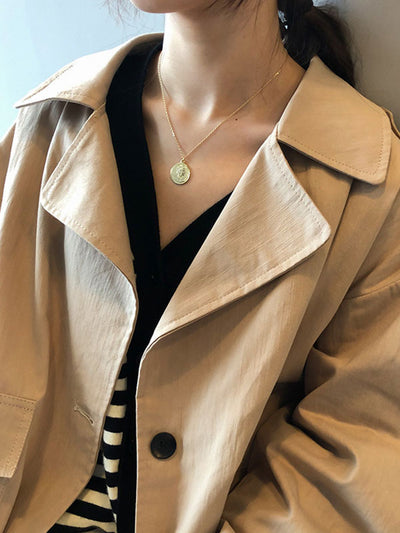 Make It a Duffle Trench Jacket