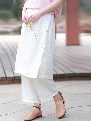 Casual Trouser-Skirt