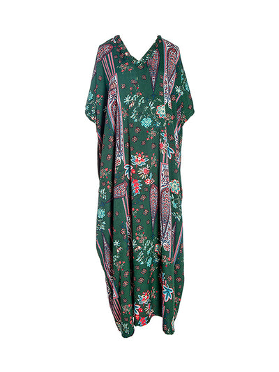 Ivy Shivering Patterns Maxi Dress