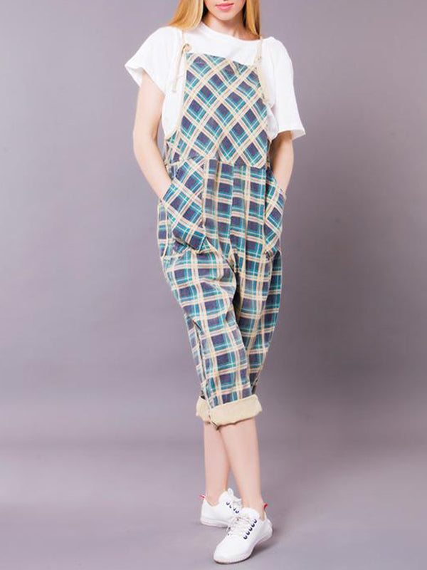 Brew Geometric Overall Dungarees