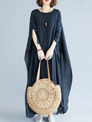 Smile Please Cotton Kaftan Dress