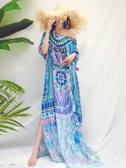The Taylee Ethnic Style Bohemian Maxi Dress
