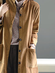 El Salvador Cotton & Linen Cardigan Jacket
