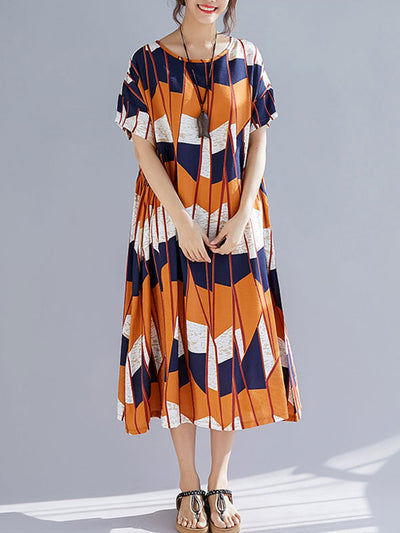Juniper Edgy Waves Midi Dress