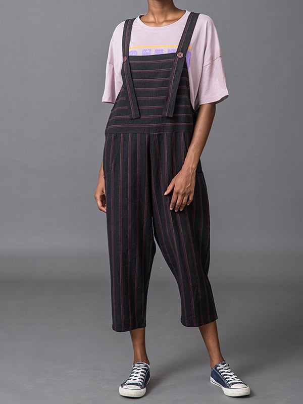 Black Lover Overall Dungarees