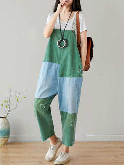 Every Waking Momentum Cotton Overalls