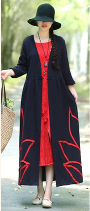Simply Beautiful Kimono Style Button Waist A-Line Dress