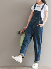 Teenage Dreams Cotton Denim Overall Dungaree