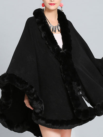 Fine and Fancy Poncho Plus Size Cape Cardigan