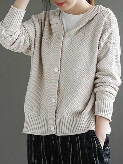 Old School Cardigan Sweater