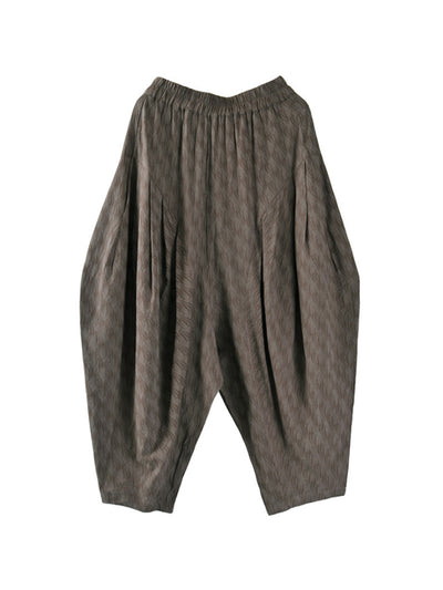 Indira Solid Texture Bloomers
