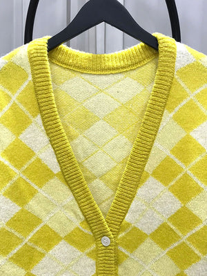 Citrus Square Sweater