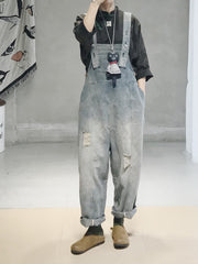 Ruffalo Denim Ripped Overall Dungaree