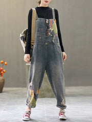 A Day In The Life Denim Overall Dungaree