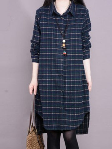 Mystic Meadows Shirt Dress