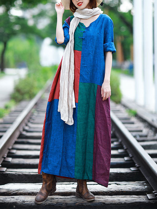 Covered With Color Midi Dress