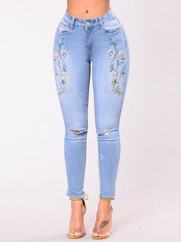 Snow Ankle Jeans