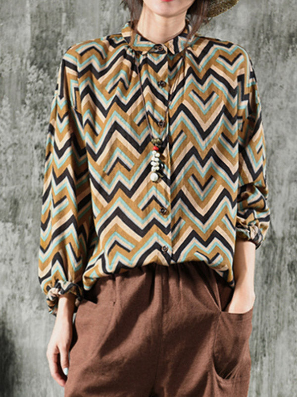 Zig Zag Stripes Shirt