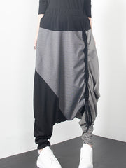 Half Dipped Harem Pants