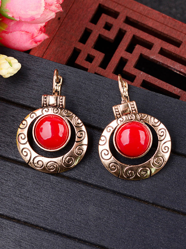 Bold Beauty Drop Earrings