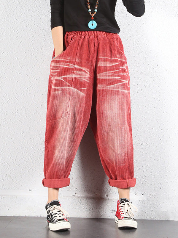 Concrete Corduroy Trouser Pants