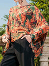 Harlequin Tunic Top