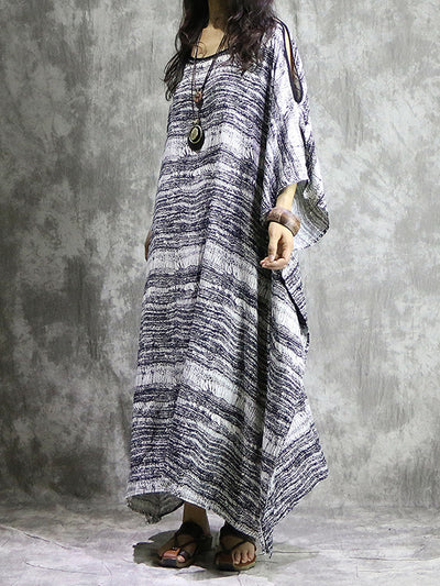Wave Up Kaftan Dress