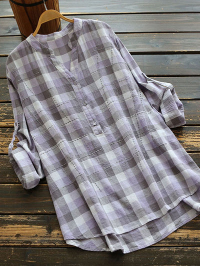 Undeniable Button-Up Plaids Shirts