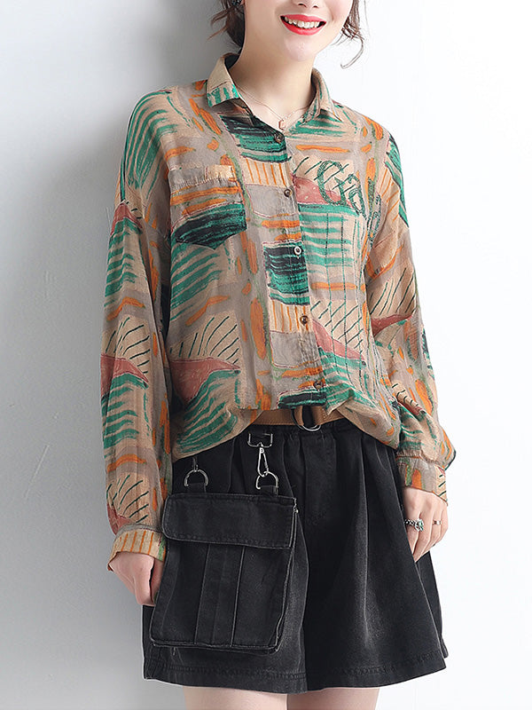 Sunny Spirit Button-Up Top