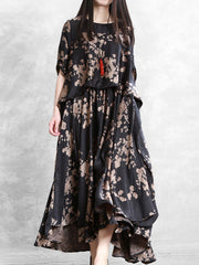 The Poetry Of Earth Maxi Dress