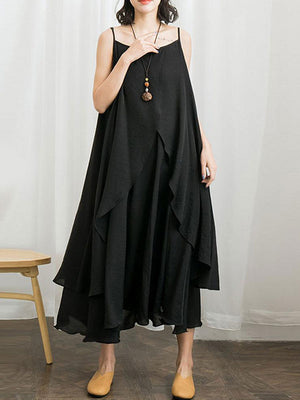 Isabel Layered Maxi Dress