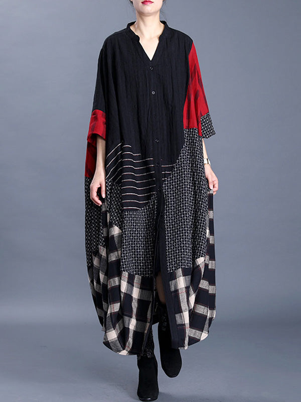 Gone With The Wind Linen Kaftan Dress