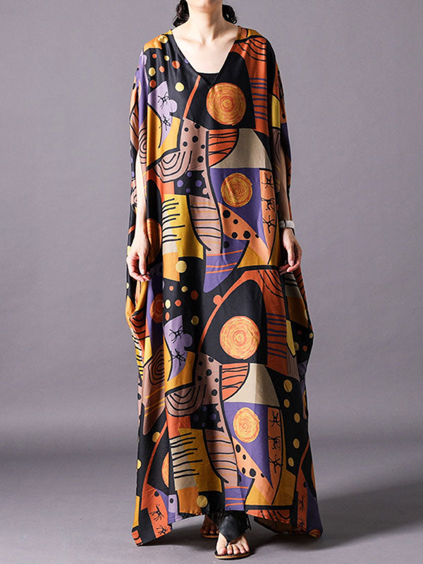 Fully Focused Kaftan Dress