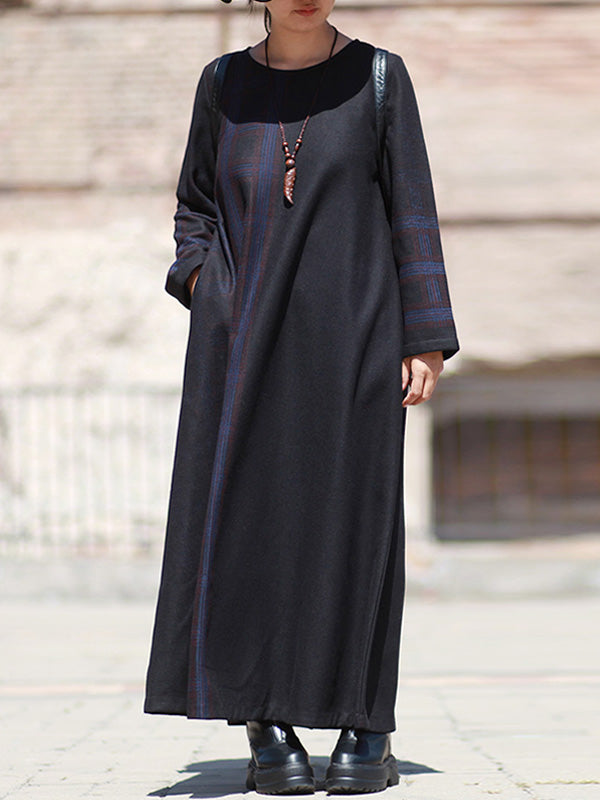 Free People Hello and Goodbye Woolen Maxi Dress